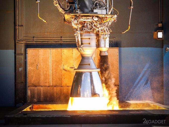 У SpaceX взорвался новый двигатель для Falcon 9