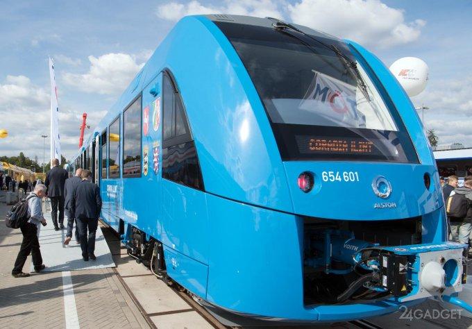 Немецкие поезда вновь станут выпускать пар (5 фото + видео)