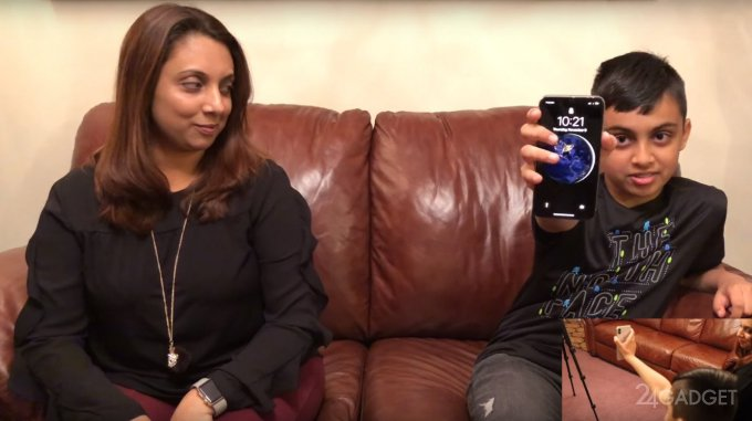 Face ID принял 10-летнего ребенка за его маму и разблокировал iPhone X