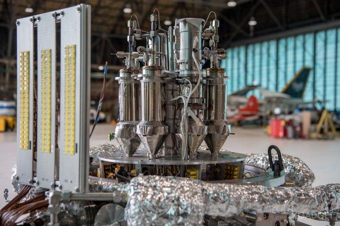 NASA протестирует ядерный реактор для марсианской миссии (6 фото + видео)