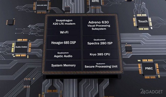 Qualcomm презентовала топовый процессор Snapdragon 845