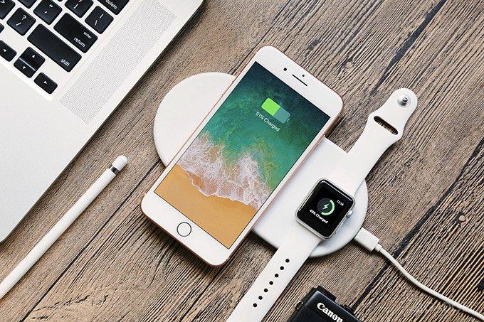 Бюджетный аналог беспроводной зарядки Apple AirPower (5 фото + видео)