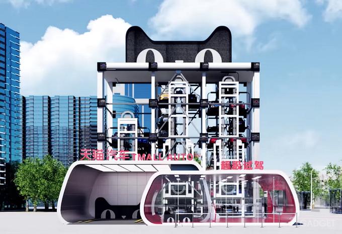Alibaba запускает автоматизированный сервис для продажи автомобилей (видео)