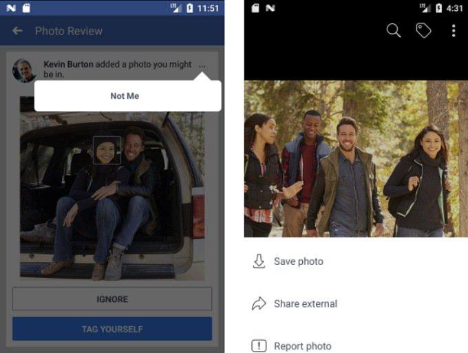 Facebook оповестит, если кто-то опубликовал фотографию с вами