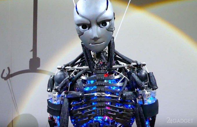 Японские роботы-гуманоиды дают уроки физподготовки (6 фото + видео)