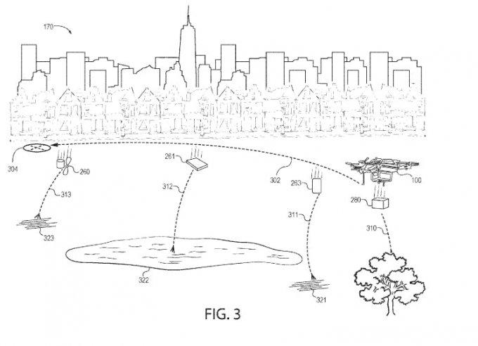 Amazon запатентовал дефрагментирующийся беспилотник (3 фото)