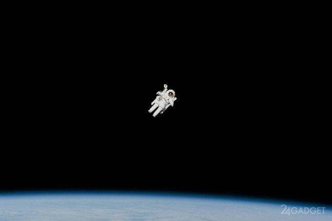 «Умный» скафандр с функцией самовозврата на МКС (3 фото)