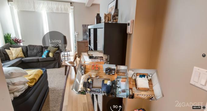 В Airbnb появятся VR-экскурсии по съёмным квартирам и домам (2 фото)