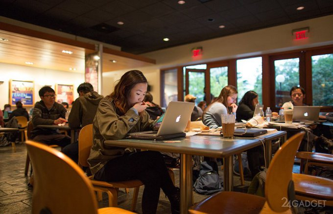 В Starbucks майнили криптовалюту через ноутбуки клиентов (2 фото)