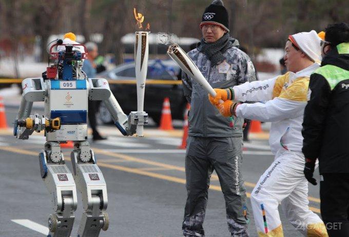 В Южной Корее роботов привлекли к Олимпиаде 2018 (8 фото + видео)