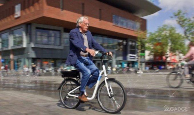 Устойчивый электровелосипед для пожилых людей