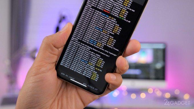 iPhone теперь может добывать биткоины (видео)
