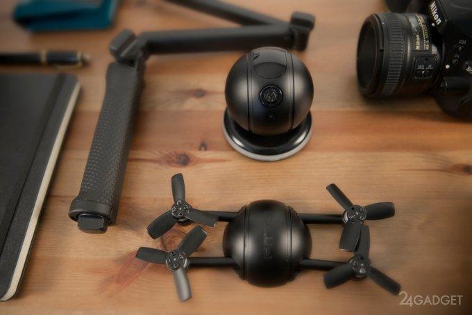 Экшн-камера, селфи-дрон и камера безопасности в одном гаджете