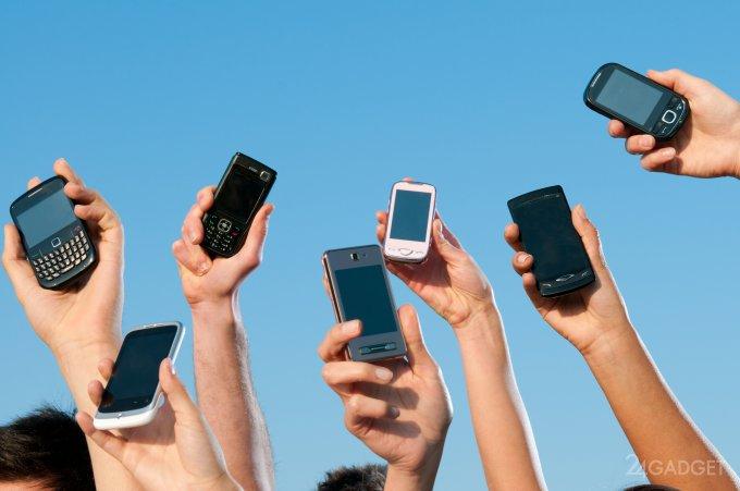 Сотовая связь не станет лучше, если телефон поднять над головой (видео)