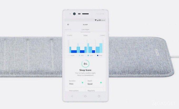 Трекер сна Sleep от Nokia (4 фото + 2 видео)