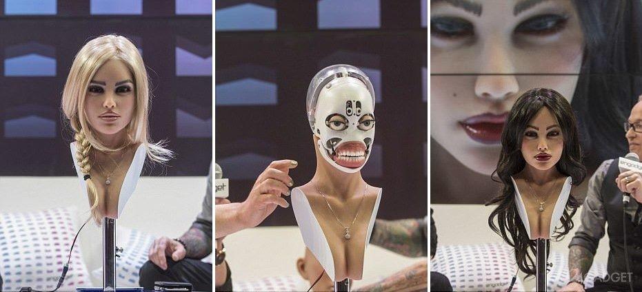 Видео секс девочка робот