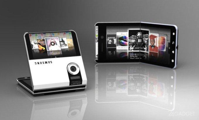 Samsung показала сгибаемые смартфоны, но не всем (3 фото)