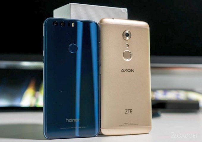 В США продукция Huawei и ZTE может оказаться под запретом (3 фото)