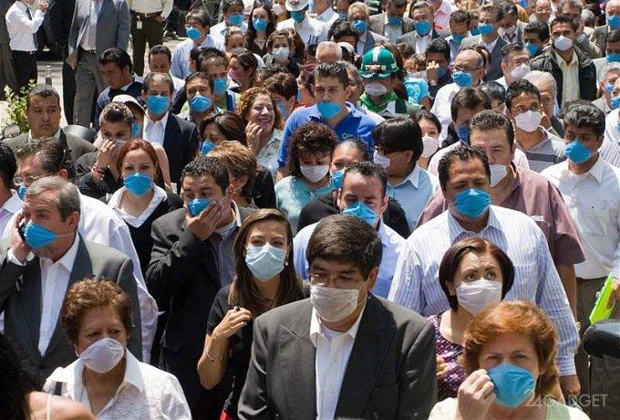Учёные не советуют дышать рядом с заболевшими гриппом (3 фото)