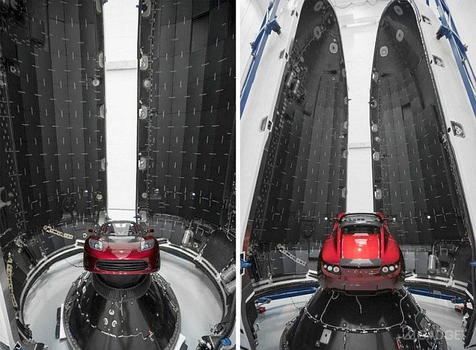 SpaceX успешно испытала двигатели ракеты Falcon Heavy (4 фото)