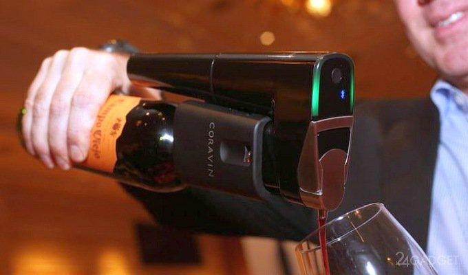 Как налить вино, не откупоривая бутылку, или открывалка за $999 (7 фото + видео)