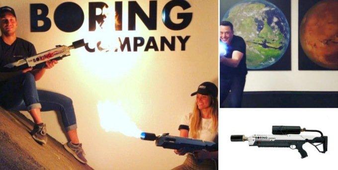Илон Маск задумал продавать оружие (2 фото + видео)