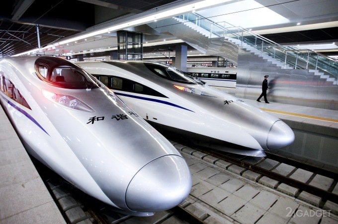 Китайский маглев-поезд разовьёт скорость 600 км/час