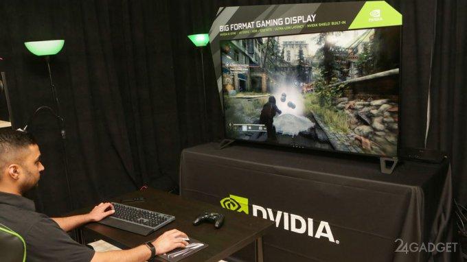 Геймерский 4K-монитор Nvidia BFGD с диагональю 65 дюймов