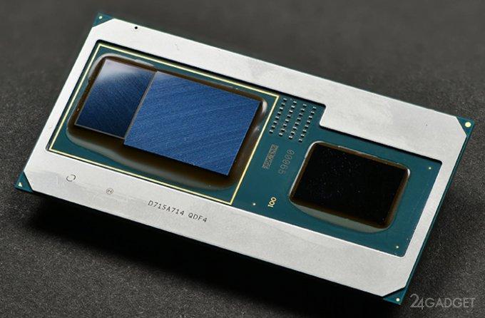 Intel представила процессоры с графикой AMD Radeon Vega M