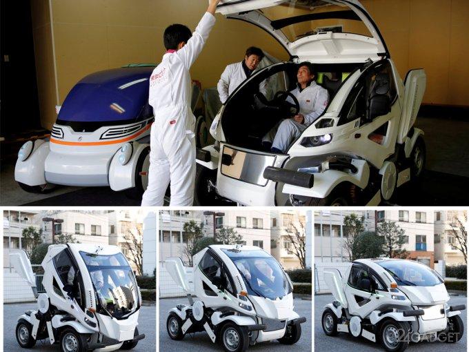 Автомобиль-трансформер для парковки на любом месте (5 фото + видео)
