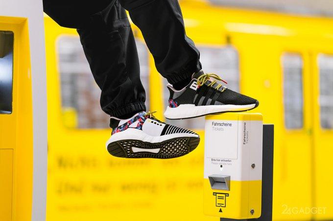 Опять гигантские очереди! На это раз за кроссовками Adidas (7 фото + видео)
