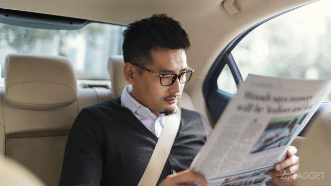 Специальные очки спасут пассажиров беспилотных авто от укачивания