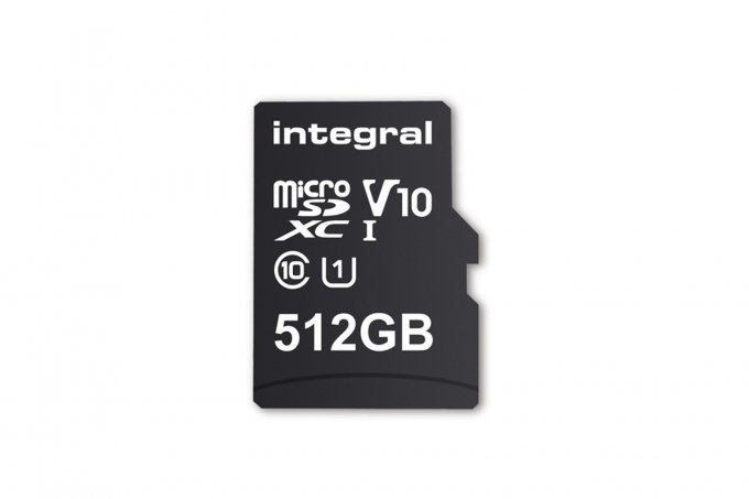 Представлена первая в мире карта памяти microSD на 512 ГБ