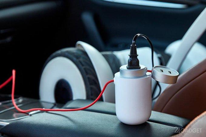 Xiaomi Mi Car Inverter — универсальный гаджет для автомобилистов