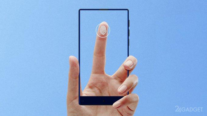 JDI анонсировала инновационный экран, распознающий отпечатки пальцев