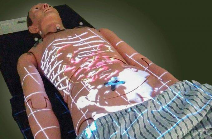 ProjectDR отслеживает изменения внутренних органов при движении (видео)
