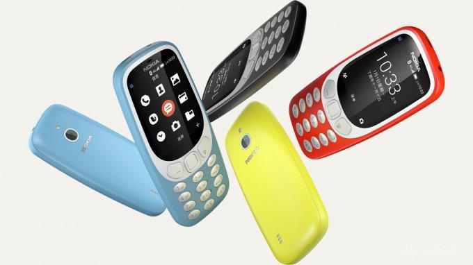 В Nokia 3310 появились 4G VoLTE и Wi-Fi (2 фото)