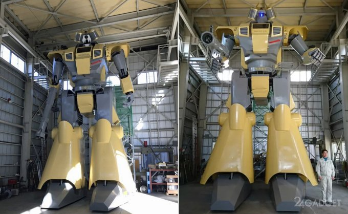 8.6-метровый шагающий робот Mononofu (7 фото + 2 видео)