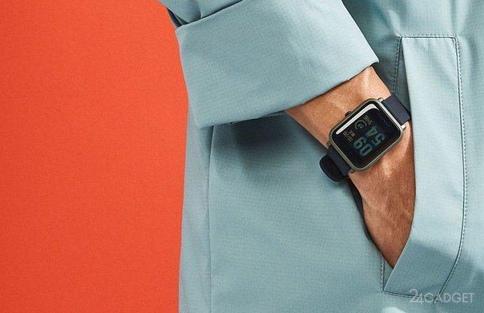 Смарт-часы Amazfit Bip с GPS проработают 45 дней без подзарядки