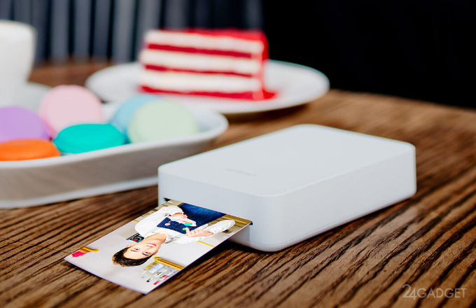 Xiaomi Xprint — карманный AR-фотопринтер (6 фото + видео)