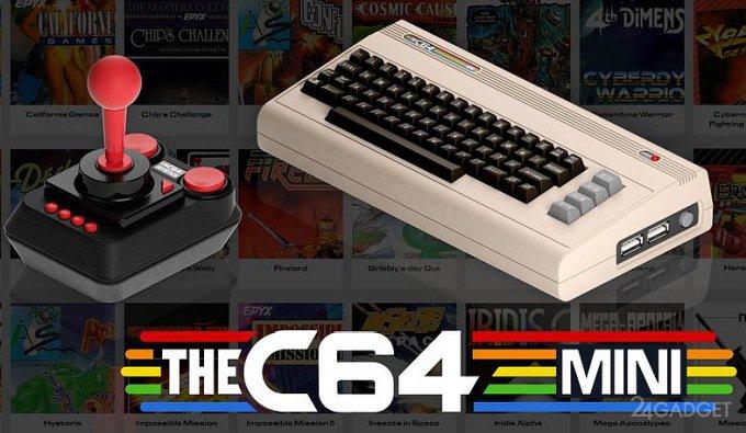 ПК Commodore 64 вернётся на рынок в современном мини-варианте (6 фото + видео)
