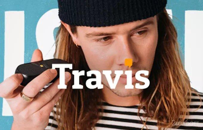 Онлайн-переводчик Travis Blue говорит на 60 языках (4 фото + видео)