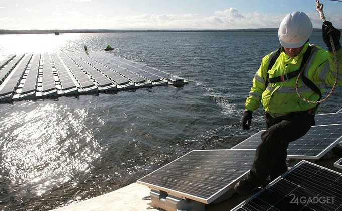 Солнечную ферму построят прямо в океане