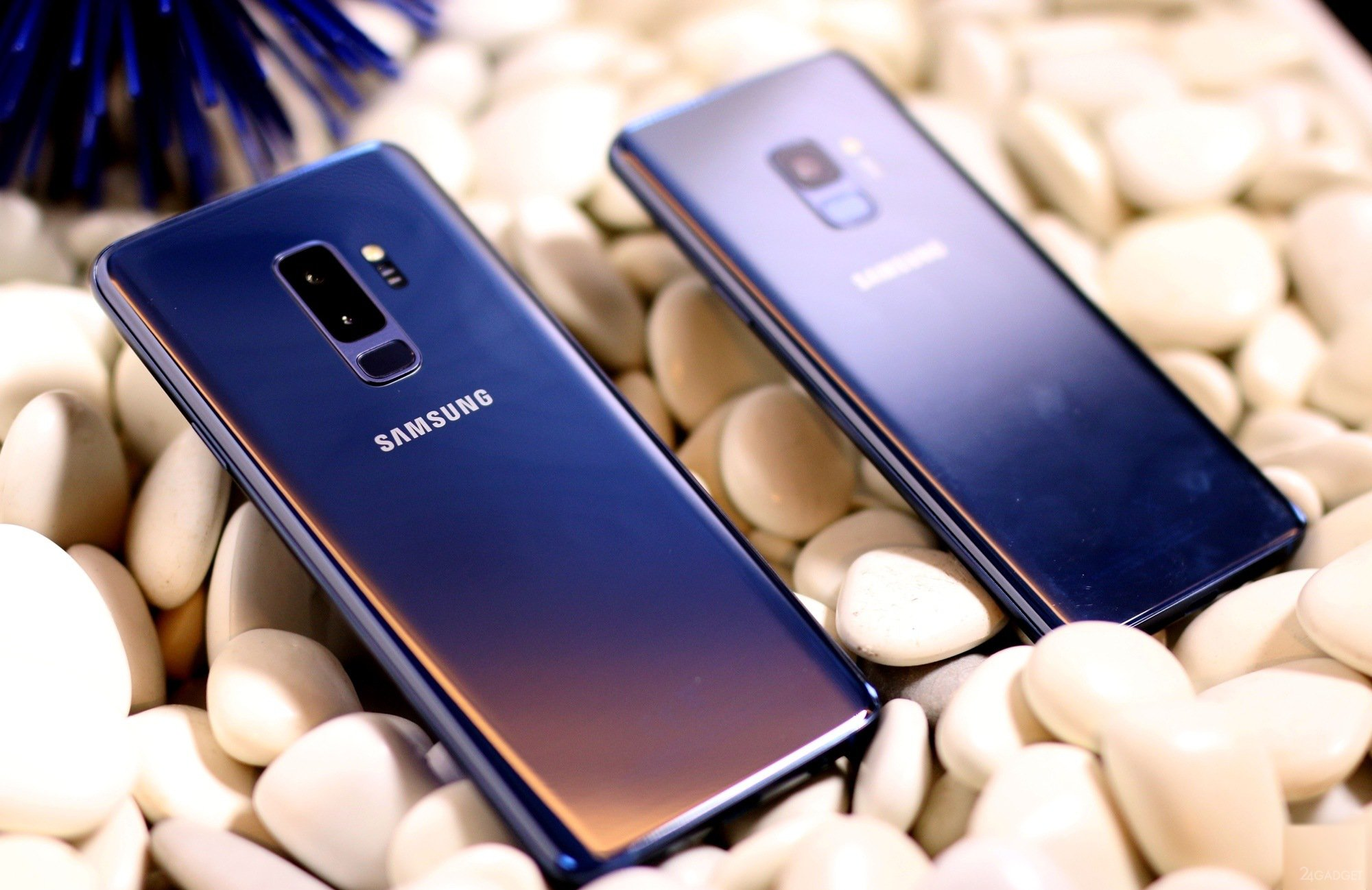 Samsung Galaxy S9 и S9 прошлогодний дизайн и