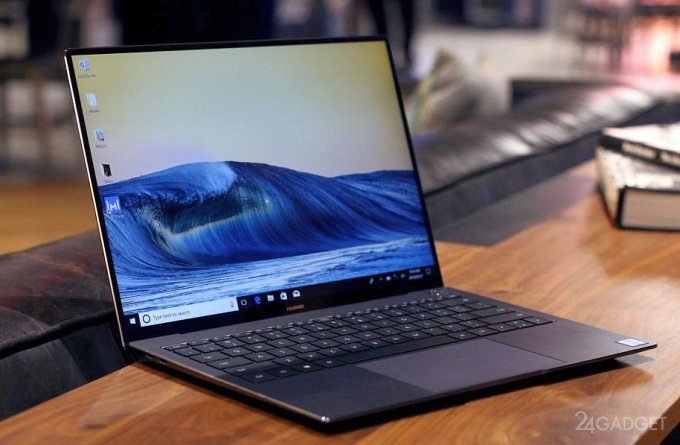 Huawei MateBook X Pro — сенсорный ноутбук с антишпионской камерой