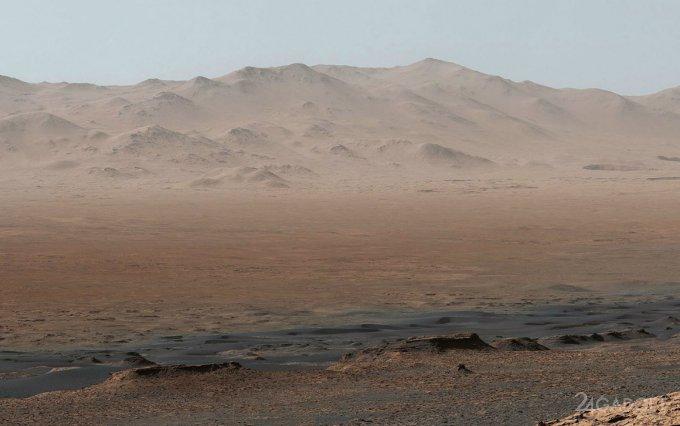 NASA показало неповторимую панораму Красной планеты (5 фото + видео)