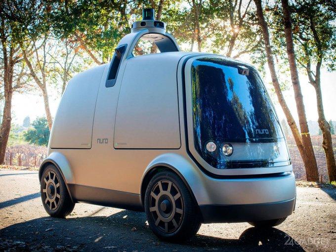 Робомобиль-доставщик получил разрешение ездить по общим дорогам