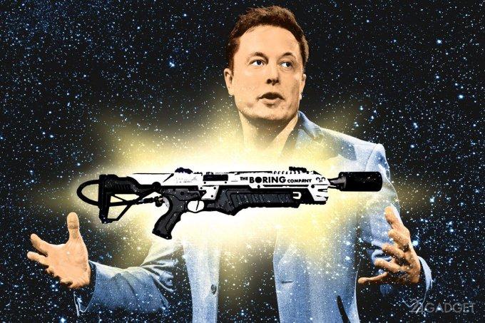 Для отправки огнемётов покупателям Илон Маск обманет таможню