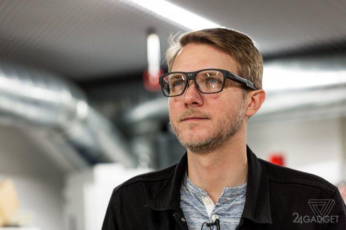 Умные очки от Intel проецируют образы на сетчатку глаза (8 фото + видео)