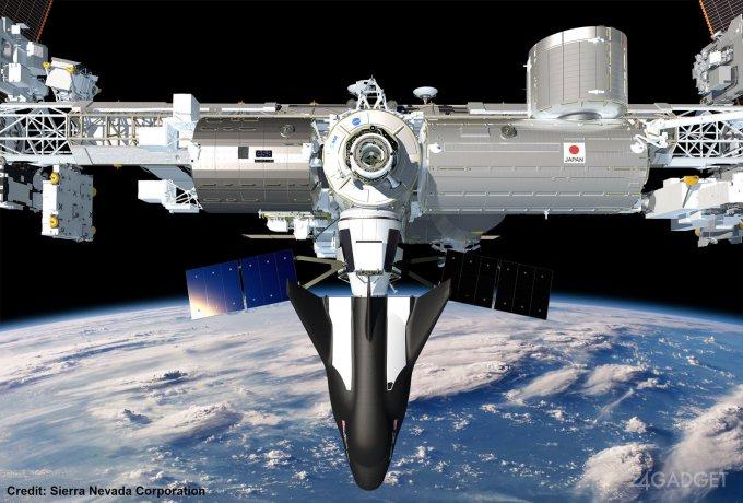 Космический многоразовый челнок Dream Chaser отправится к МКС (5 фото)